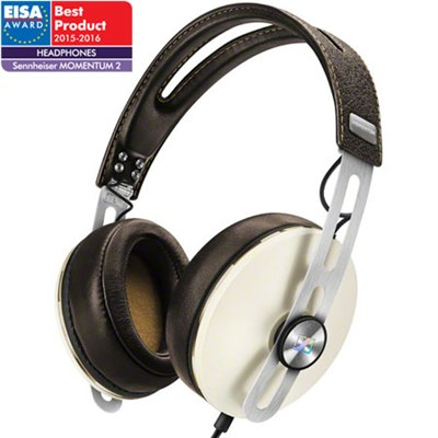 M2 Momentum 2.0 Over-Ear Headphones w/ Controls for Apple iOS Devices (Ivory)