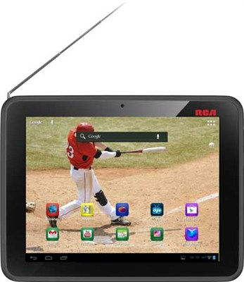 MobileTV 8-Inch 8GB Android Tablet with Built in TV Tuner