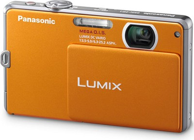 DMC-FP1D LUMIX 12.1 MP Digital Camera (Orange)