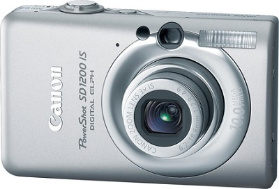 Powershot SD1200 IS 10MP Digital ELPH Camera (Silver)