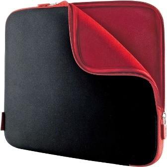 Neoprene Notebook Sleeve for Notebooks up to 17` Jet/Cabernet