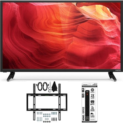 E40-D0 40` SmartCast Full-Array LED Smart 1080p HDTV w/ Slim Wall Mount Bundle