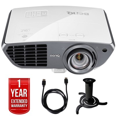 HT4050 Full HD DLP Home Theater Projector + Extended Warranty Bundle