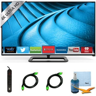 P552ui-B2 - 55-Inch 240Hz 4K Ultra HD LED Smart TV Plus Hook-Up Bundle