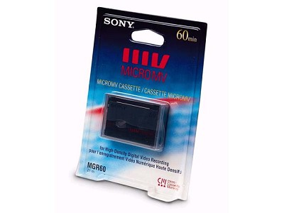 MICROMV 60 Minute Tape with Chip