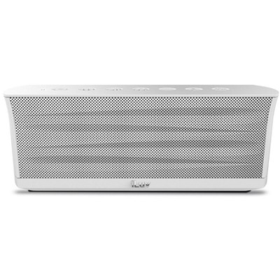 MobiOut Splash-Resistant Wireless Bluetooth Speaker with Jump-Start - White