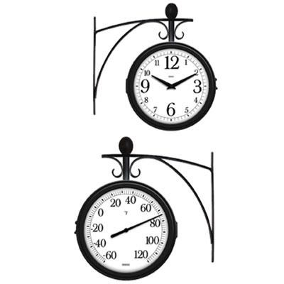 Station Thermometer and Clock