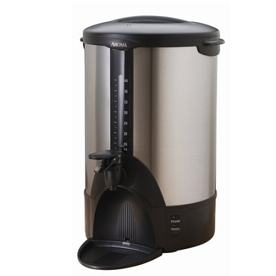 ACU-140S Stainless-Steel 40-Cup Coffee Urn