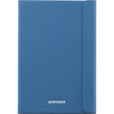 EF-BT550BLEGUJ - Galaxy Tab A 9.7-inch Book Cover - Solid Blue