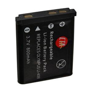 Li-40B 800mah Battery for Olympus Stylus 7-series, FE-190, IR-300, D630