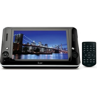 i1166 8.9 Inch Portable Multimedia/DVD Player with Dock for iPod