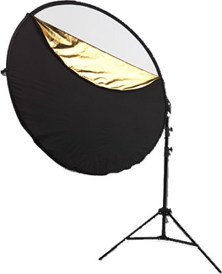 Photo Basics 40` 5-in-1 Reflector Kit w/ Stand and Arm