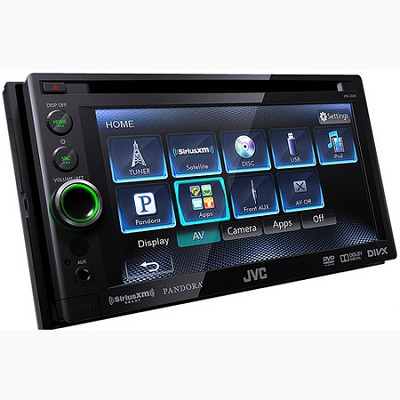 DVD/CD/USB Receiver with 6.1` WVGA Touch Panel Monitor (KWAV61)