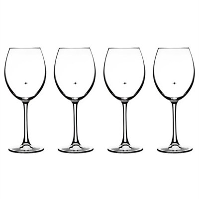 The Star's The Limit Collection All Purpose/Red Wine Glasses, Set of 4