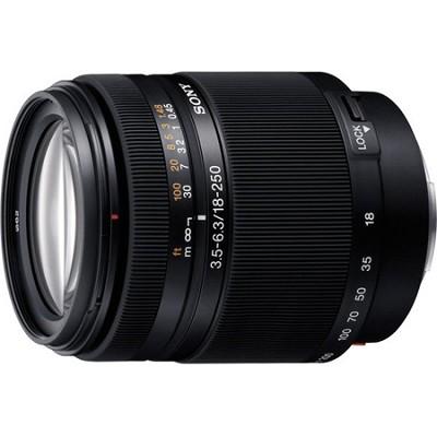 SAL18250 - DT 18-250mm f/3.5-6.3 High Magnification Autofocus A-Mount Lens Alpha