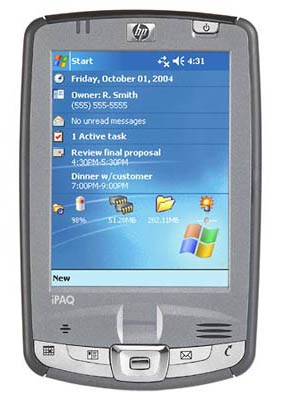 iPAQ hx2750 Pocket PC