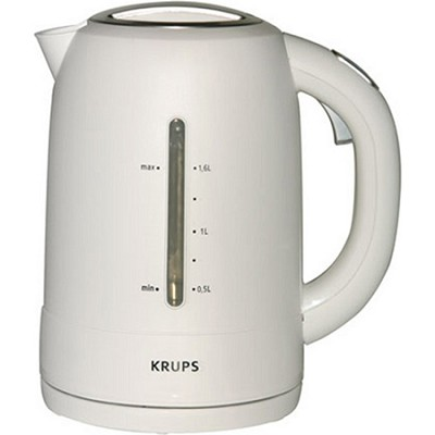 FLF2-J1 - Electric Kettle, White and Stainless Steel