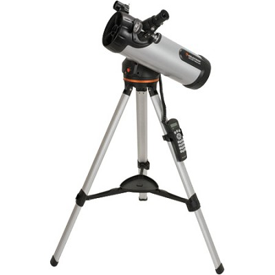 114LCM Computerized Telescope (Black)
