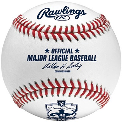 Official 2011 Mariano Rivera 602 Saves Commemorative Baseball - OPEN BOX