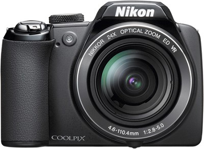 Coolpix P90 Digital Camera w/ 24x Zoom (Matte Black)