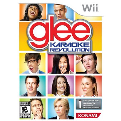 Karaoke Revolution Glee for Nintendo Wii