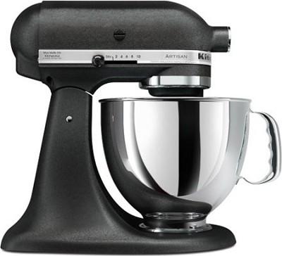 Artisan Series 5-Quart Tilt-Head Stand Mixer in Imperial Black - KSM150PSBK