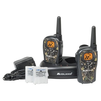 LXT385VP3 24-Mile 22-Channel FRS/GMRS Two-Way Radio (Camouflage) (Pair)