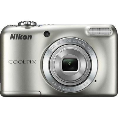 COOLPIX L27 16.1MP Digital Camera w/ 5x Zoom + 720p Video (Silver) Refurbished