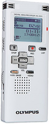 WS-400 S Digital Recorder (White) - REFURBISHED