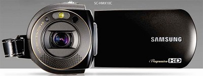 SC- HMX10C HD (1280 x 720) Camcorder with 8GB Flash Memory & Memory Card Slot