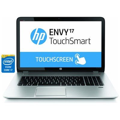 Envy TouchSmart 17.3` 17-j130us Notebook - Intel Core i7-4700MQ - ***AS IS ***