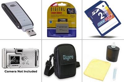 Bargain Accessory Kit for Powershot SD800, SD850, SD870, SD900 & SD950