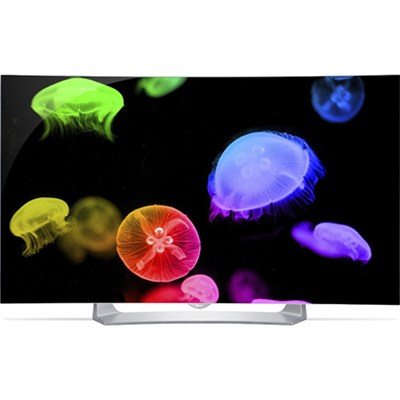 55EG9100 - 55-Inch Full HD 1080p Curved OLED TV w/ webOS 2.0 & 3D - OPEN BOX