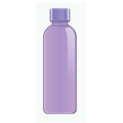 Graphite Bottle 16.9 Ounce, Purple