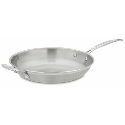 MCP22-30H MultiClad Pro Stainless 12-Inch Skillet with Helper