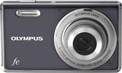 FE-4000 12MP Digital Camera w/ 4x Wide Angle Opt Zoom, 2.7 inch LCD (Dark Grey)