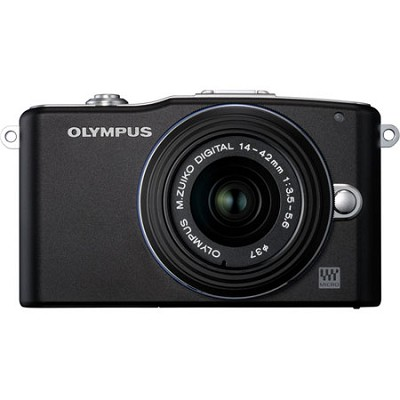 E-PM1 Black w/14-42mm Lens
