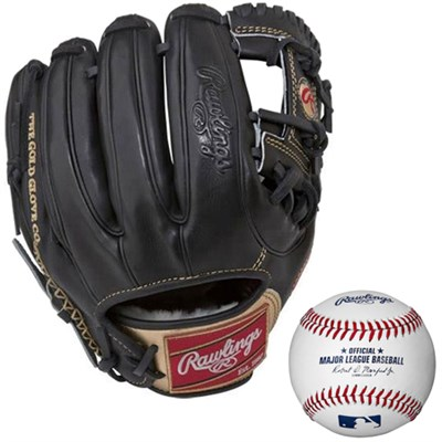 Gold Glove Series Opti-Core 11.5 Inch Baseball Glove w/ Rawlings Baseball