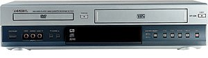 SDV290 DVD / VCR combines a DVD player and VCR