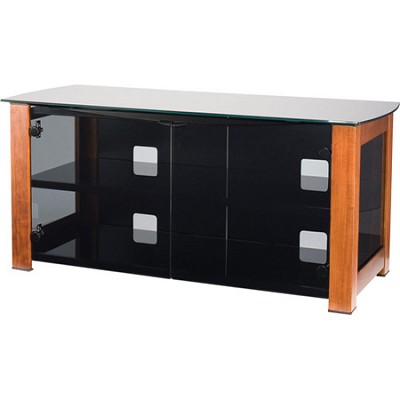 DFV50 - Designer Series 3 Shelf A/V Cabinet for TVs up to 55` (Chestnut)