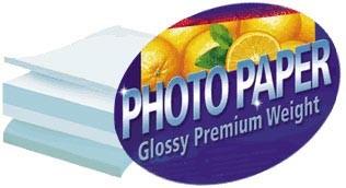 8.5x11 Premium Glossy Photo paper 20-Pack