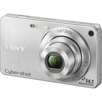 Cyber-shot DSC-W350 14.1 MP Digital Camera (Silver) - Open Box