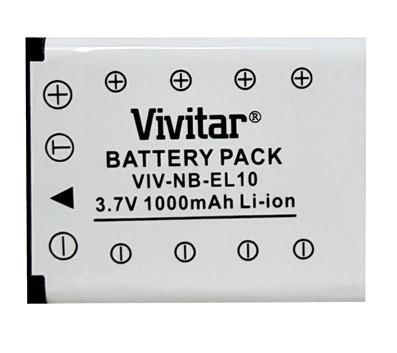 BPEL10 - 1000mAh Battery for Nikon EN-EL10, Pentax D-Li63 & Kodak KLIC-7006