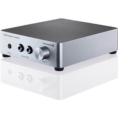 A20 Headphone Amplifier - Silver - OPEN BOX