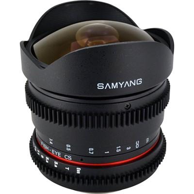 8mm T3.8 `Cine` Fisheye Lens for Canon VDSLR
