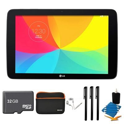 G Pad V 700 16GB 10.1` WiFi Black Tablet, 32GB Card, and Case Bundle