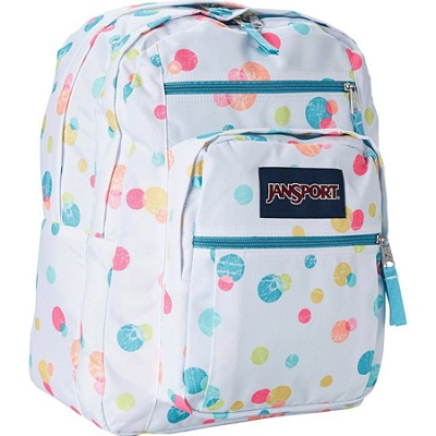Big Student Backpack - Pink Pansy Confetti Dots (TDN7)