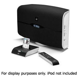 M812 Octiv Air Wireless Speaker System with Dock for iPod (Black)