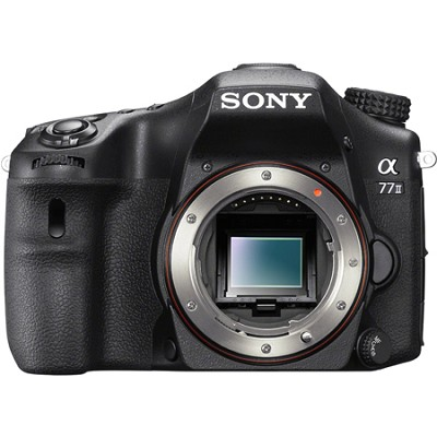 a77II 24.3MP HD 1080p DSLR Camera - Body Only