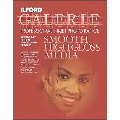 Smooth High Gloss 8.5 x 11 Photo Paper - 25 Pack